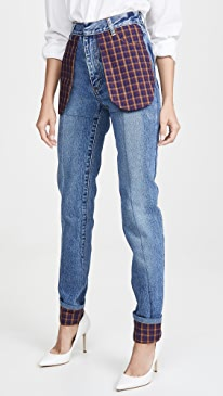 Slim Jeans with Celled Pockets