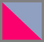 Light Blue/Pink Flock