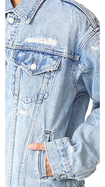 Ksubi Oversized Jean Jacket