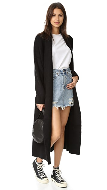 Ksubi Mini Moss Skirt