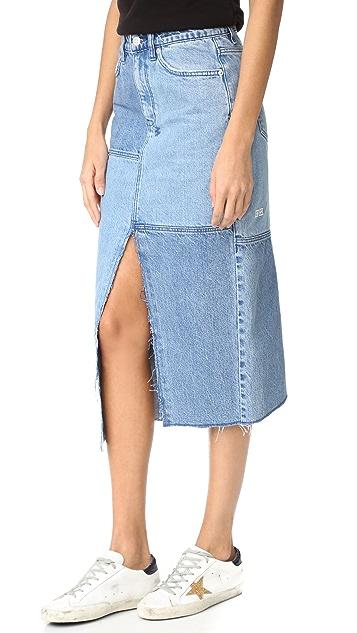 Ksubi Pip Midi Skirt
