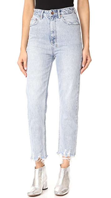 Outlet Visit New Free Shipping Outlet straight-leg cropped jeans - Blue Ksubi Recommend Cheap Explore dMVVmI7B