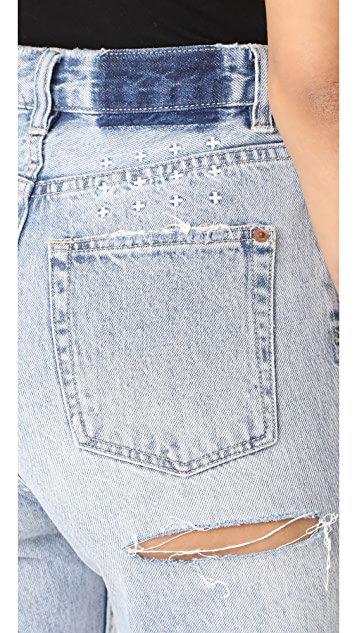 Ksubi Прямые джинсы Chlo Wasted Super Freak