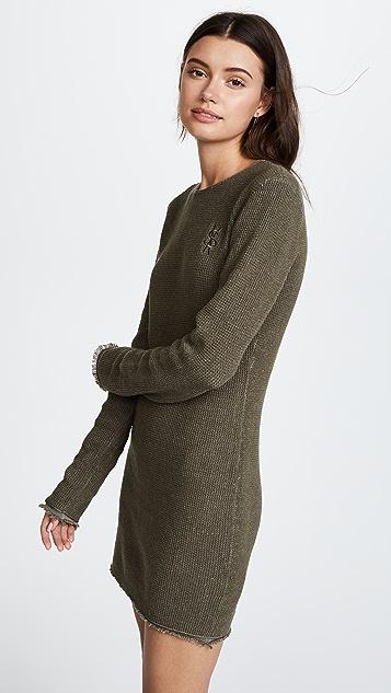 Ksubi Unspoken Waffle Knit Dress