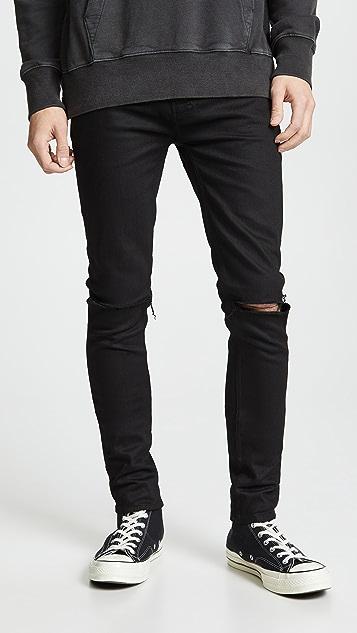 Ksubi Black Van Winkle Ace Slice Jeans
