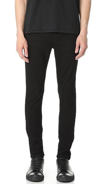 Ksubi Van Winkle Black Rebel Jeans
