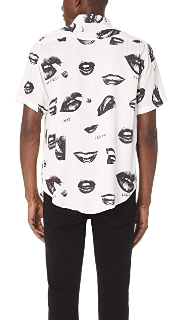 Ksubi Read My Lips Short Sleeve Shirt