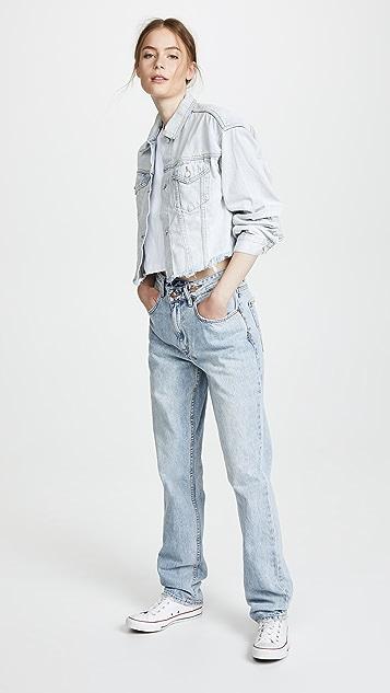 Ksubi Daggerz Crop Jean Jacket