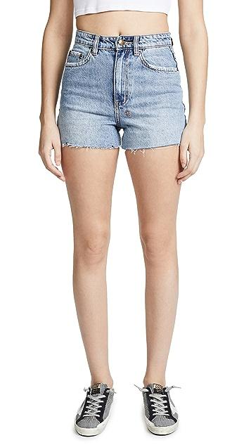 Ksubi Rise N High Shorts