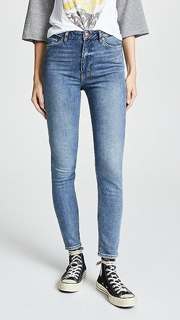 Ksubi Hi & Wasted Skinny Jeans