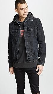 Ksubi Classic Black Tar Jacket