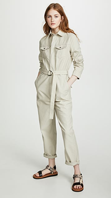 Ksubi Suits Crypt Putty Jumpsuit