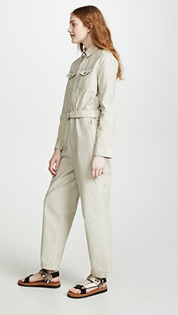 Ksubi Crypt Putty Jumpsuit