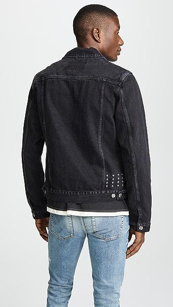 Ksubi Classic Sketchy Black Jacket