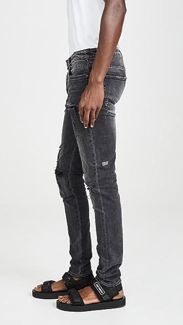 Ksubi Van Winkle Angst Thrashed Denim Jeans