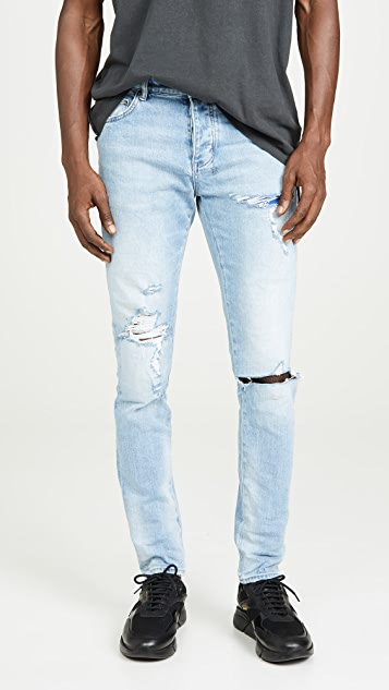 Ksubi Chitch Punk Thrashed Denim Jeans