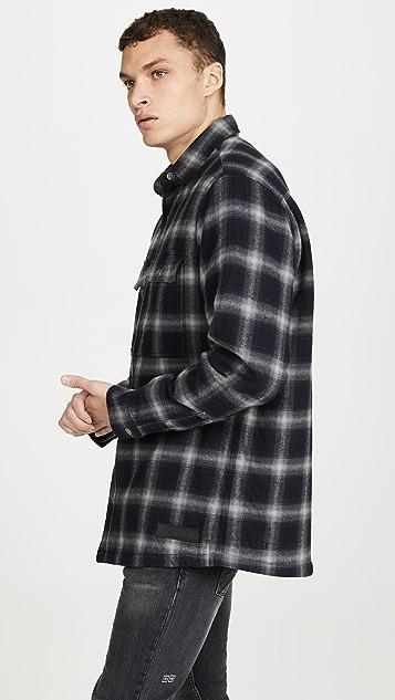 Ksubi Strata Quilted Shirt Jacket