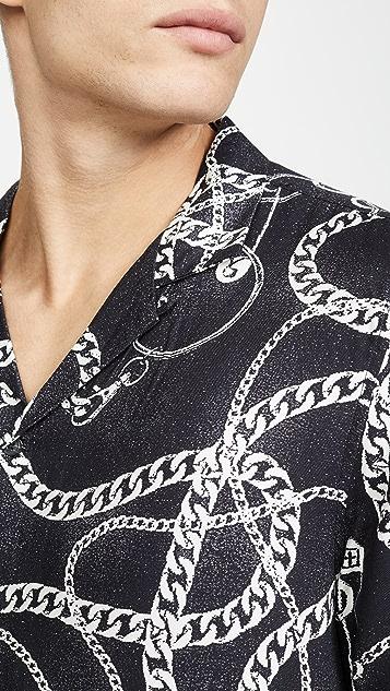 Ksubi Heavy Metal Short Sleeve Shirt