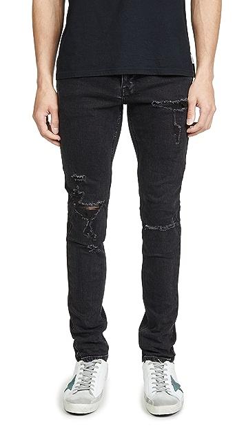 Ksubi Chitch Concrete Distressed Jeans