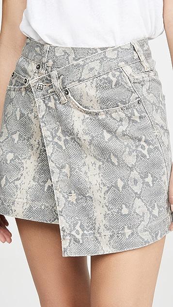 Ksubi Rap Kobra Skirt
