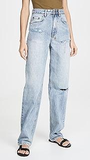 Ksubi x Kendall Playback Skream Trashed Flash Jeans