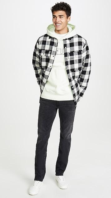 Ksubi Dub Long Sleeve Plaid Shirt