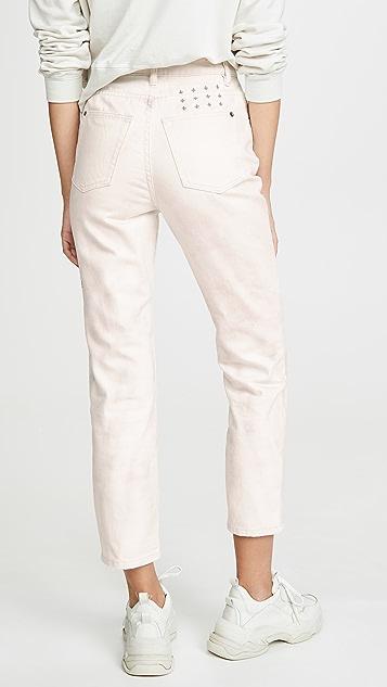Ksubi 扎染高腰牛仔裤
