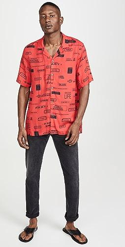 Ksubi - You Have Been Warned Resort Shirt Nitro