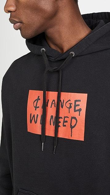 Ksubi Change We Need Hoodie Tru Black