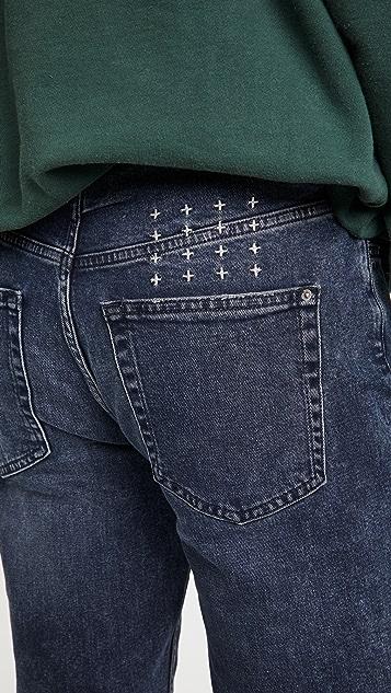 Ksubi Wolfgang Blue Kolla Denim Jeans