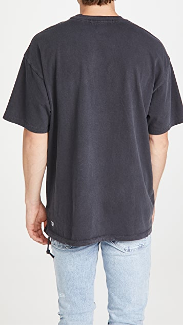 Ksubi Dollar Sign Faded T-Shirt