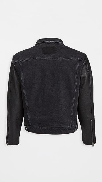 Ksubi Oh G Jacket Throwblack Biker
