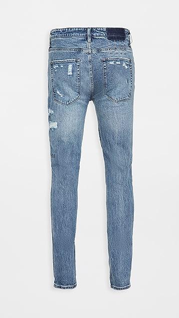 Ksubi Van Winkle Runaway Ruined Jeans