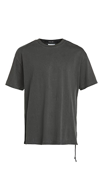 Ksubi Insurgent Biggie Tee Back To Black
