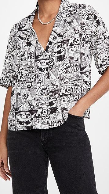 Ksubi Wicked Comic Shirt