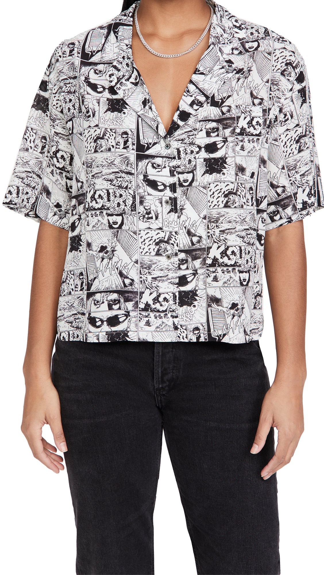 Ksubi Wicked Comic Shirt