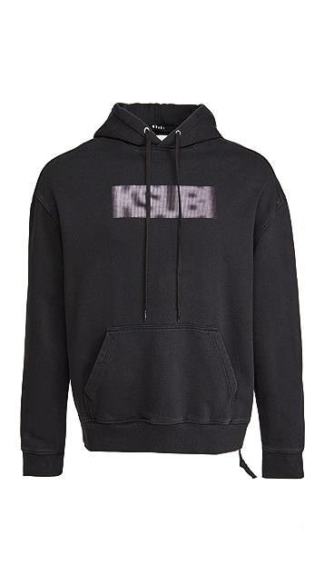 Ksubi Bitmap Biggie Long Sleeve Hoodie