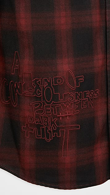 Ksubi Long Sleeve Consciousness Plaid Shirt