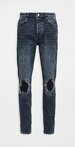 Ksubi - Chitch Blue Kolla Slashed Jeans