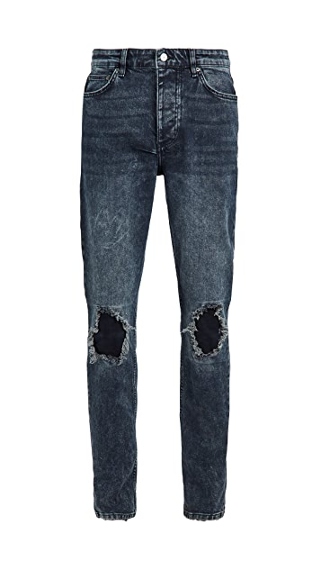 Ksubi Chitch Blue Kolla Slashed Jeans