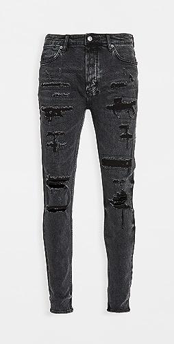 Ksubi - Van Winkle Black Dynamite Trash Jeans