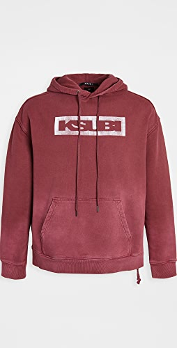 Ksubi - Ksubi Box Logo Biggie Hoodie