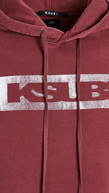 Ksubi Ksubi Box Logo Biggie Hoodie