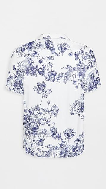 Ksubi Master Resort Shirt White
