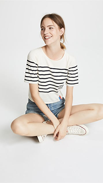KULE Striped Tee