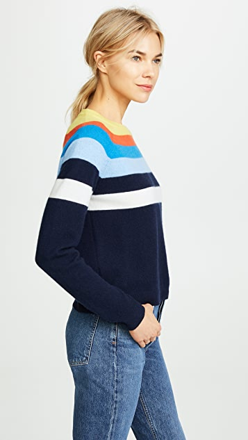 KULE The Biminy Twist Cashmere Sweater