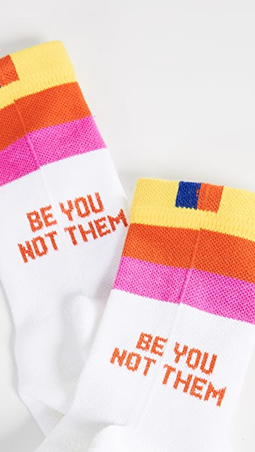 KULE The Be You Not Them Socks