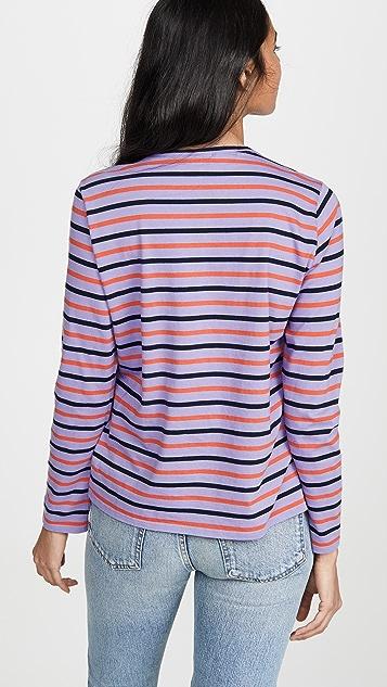 KULE Современная футболка с длинными рукавами