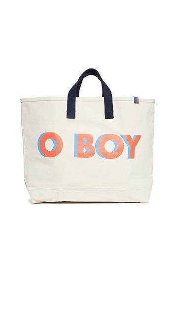 KULE O Boy Large Tote Bag