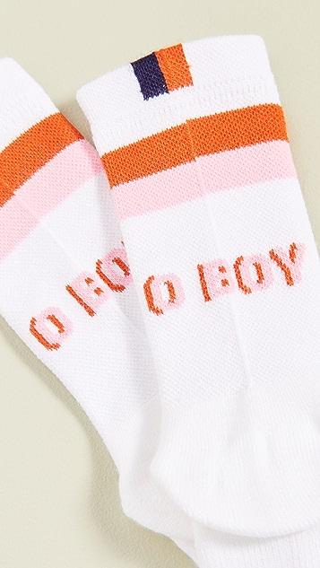 KULE Носки с надписью «Oboy»